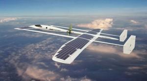 Future-technology-Concept-Solar-Powered-Aircraft